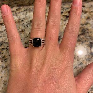 David Yurman Black Stone Ring